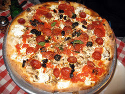 Food at Grimaldi's Pizza