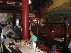 Inside John's Pizzeria of Bleecker Street