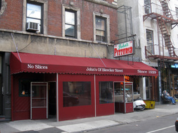 John's Pizzeria of Bleecker Street