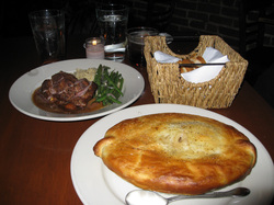 Food at Pot Pie